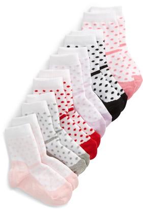 Nordstrom 6-Pack Dressy Shoe Crew Socks