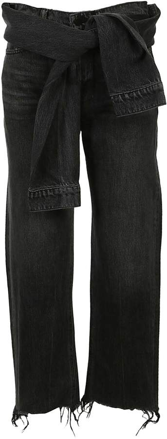 Alexander Wang Stack Tie Jeans