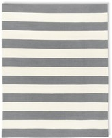 Patio Stripe Indoor/Outdoor Rug, Gray