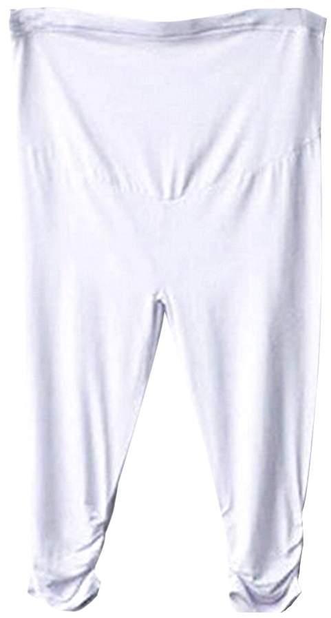 Norbi Women Maternity Loose Pants Elastic Capris Pants Cotton Leggings