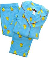 Angelina Blue Duck Giftable Fleece Pajama Set