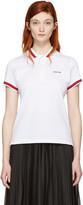 Givenchy White Logo Polo