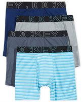 Jockey Men's 4-Pk. Low-Rise Boxer Briefs