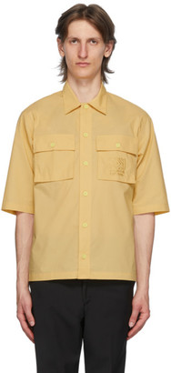 MAISON KITSUNÉ Yellow Pockets Over Shirt
