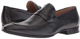 Massimo Matteo New Penny Classic (Black) Men's Slip on Shoes
