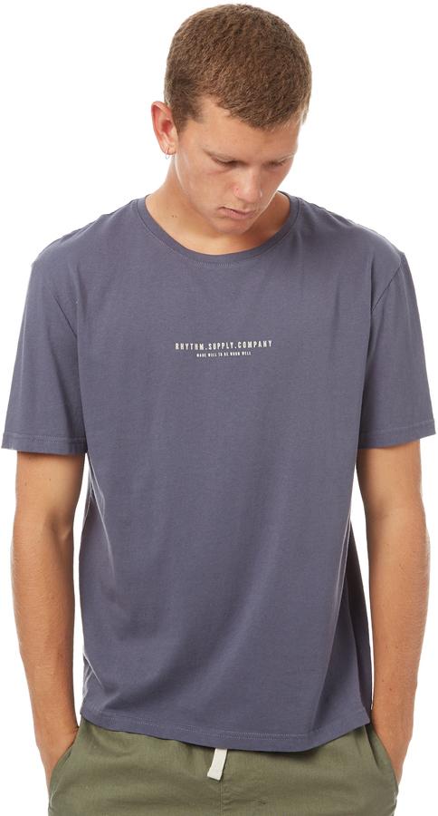 rhythm Avenue Mens T Shirt Blue