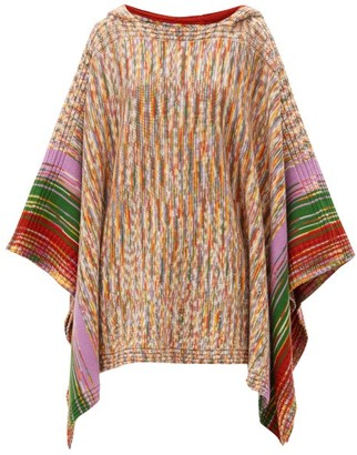 Missoni Space-dyed Wool Hooded Poncho - Multi