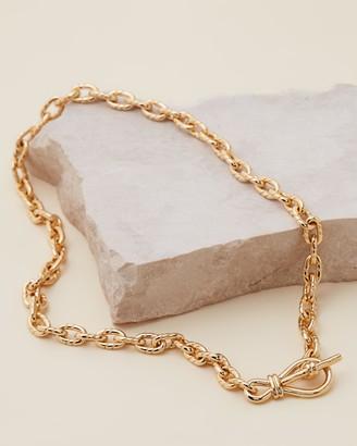 Missoma Loop T-Bar Necklace
