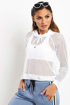 Koral White Pump Long Sleeve Pullover - XS - White