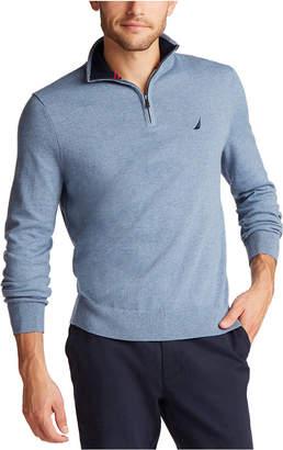 Nautica Men Classic-Fit Navtech Quarter-Zip Sweater
