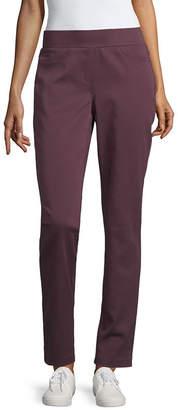 Liz Claiborne Classic Fit Comfort Stretch Pull On Pant