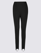 M&S Collection Ponte Skinny Leg Trousers