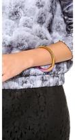 Rebecca Minkoff Irregular Bangle Bracelet