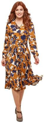 Joe Browns Flared V-Neck Dress