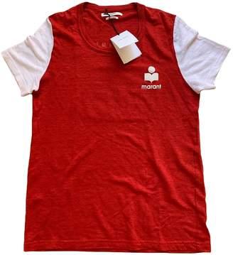 Isabel Marant Red Linen Top for Women