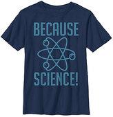 Fifth Sun Navy 'Because Science' Crewneck Tee - Boys