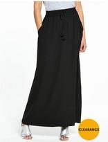 Very PETITE Tassel Crepe Maxi Skirt