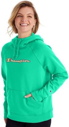 Champion Women's Powerblend Fleece Graphic Hoodie
