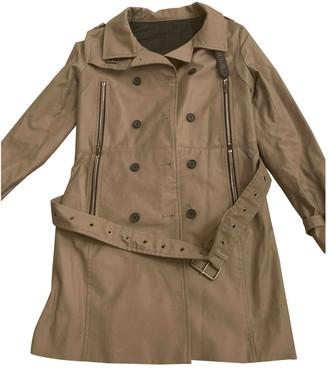 The Kooples Beige Cotton Trench Coat for Women
