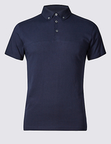 Limited Edition Pure Cotton Slim Fit Polo Shirt