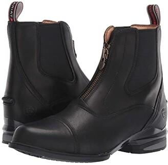 Ariat Devon Nitro Paddock (Black) Women's Lace-up Boots