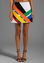 Transit Print Mini Skirt