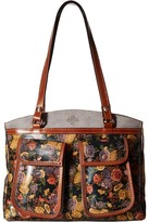 Patricia Nash Belver Top Zip Tote Top-Zip Handbags