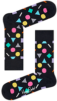 Happy Socks Play Socks, One Size, Black/multi