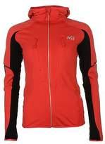 Millet Womens Pierra Sfs Jacket Hooded Sports Running Training Full Zip Top