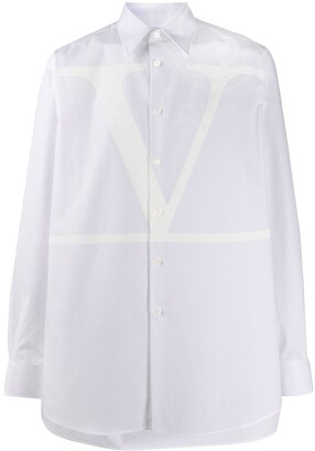 Valentino Button-Front Shirt