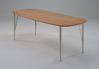 Fox Imports Sixty2 Dining Table Oak 220cm