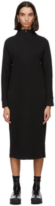 MAX MARA LEISURE Black Casta Zip Dress