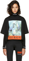 Heron Preston Black Heron T-Shirt