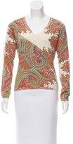 Etro Paisley Silk Sweater