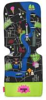 Maclaren Shanghai City Map Universal Seat Liner in Green/Blue
