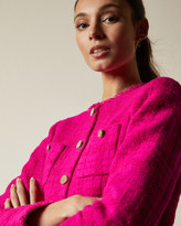 Ted Baker ILEX Wool jacket with patch pockets