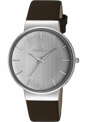 Radiant Mens Analogue Quartz Watch with Leather Strap RA403601