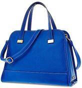 JCPenney Duro Olowu for jcp Blue Faux-Leather Crossbody