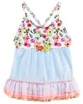 Pate De Sable Multi Print Dress