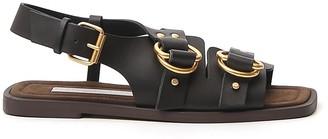 Stella McCartney Buckled Strap Sandals