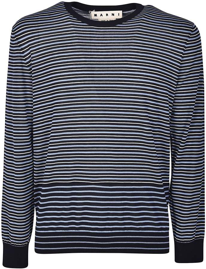 Marni Graphic Stripe Sweater