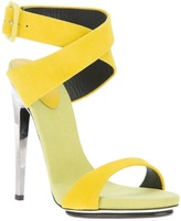 Design chrome stiletto sandal