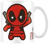 Marvel Kawaii Deadpool Ceramic Mug, Multi-Colour