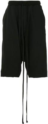 Julius Drop-Crotch Cropped Trousers