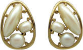 One Kings Lane Vintage Givenchy Faux-Pearl Earrings