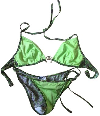 Dolce & Gabbana Green Swimwear for Women