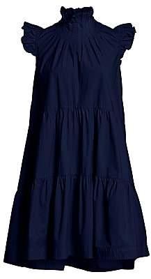 Sea Women's Waverly Ruffled Flounce Dress - Size 0