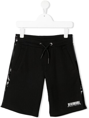 Diesel Coated-Detail Cotton Shorts