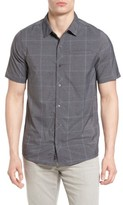 Travis Mathew Men's Uenishi Trim Fit Plaid Sport Shirt