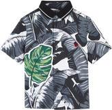 Dolce & Gabbana Botanical garden print shirt